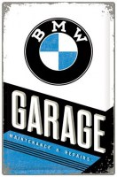 BMW GARAGE METALENBORD XXL