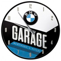 BMW Garage Wandklok