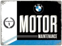 BMW MOTOR METALENBORD XL
