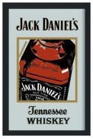 Jack Daniels Old Time Tennessee Barspiegel 30x20 cm