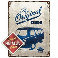 VW Volkswagen Bulli The Original Ride Special Edition 3D metalen wandplaat