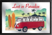 Volkswagen lost in paradise surf coast barspiegel