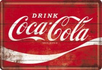 coca cola wave postcard