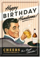 postcard happy birthday handsom