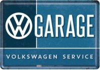 vw garage postcard1